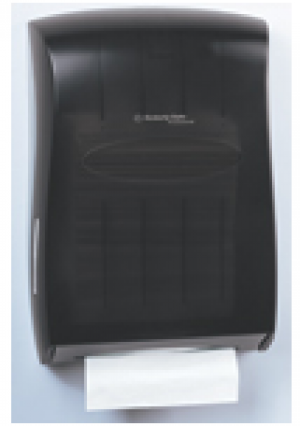 Kimberly-Clark Professional Universal Folded Towel Dispenser- Smoke Color