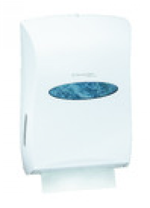 Kimberly-Clark Professional Universal Folded Towel Dispenser- White