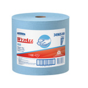 WypAll 34965 X60 Wipers- Blue- Jumbo Roll